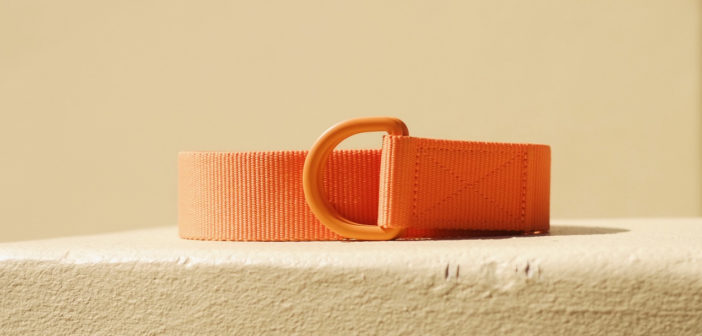 The new For Purpose Recycling Belt adds a little conscience to your summer look.