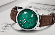 Two elegant new timepieces from Glashütte Original and Audemars Piguet suggest green is the new black when it comes to men's wrist candy.