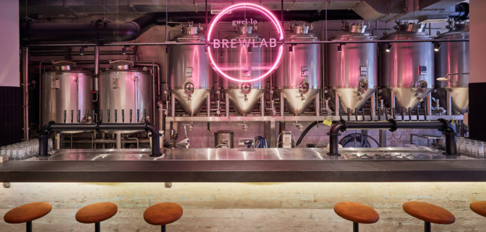 If you've ever wanted to see how beer is made, or eat and drink those beautiful results, new Kennedy Town spot Grain is for you.