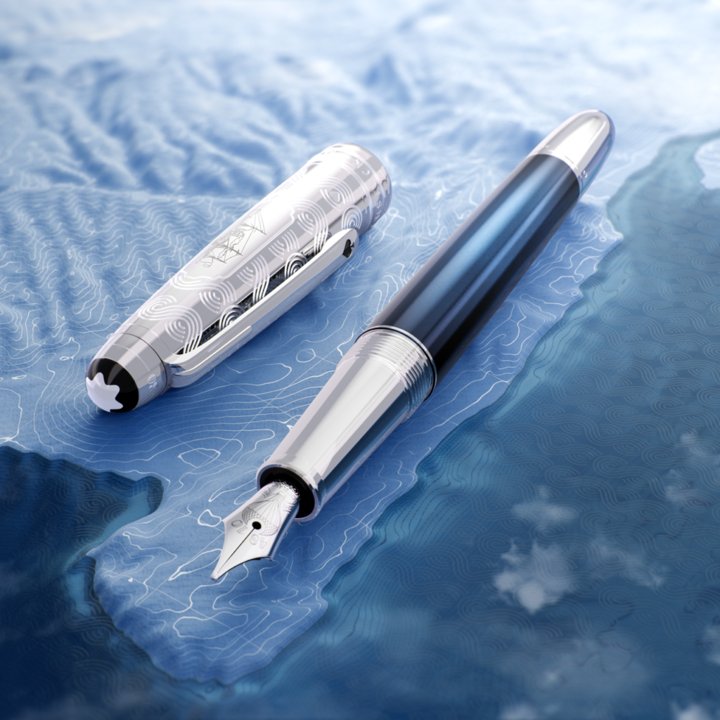 Montblanc channels author Jules Verne with a new Meisterstück collection of writing instruments inspired by his book Around the World in 80 Days.