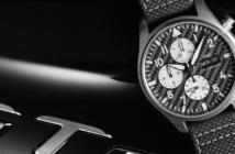 """Celebrating their 17-year partnership, IWC Schaffhausen and Mercedes-AMG have created the Pilot's Watch Chronograph Edition """"AMG""""."""