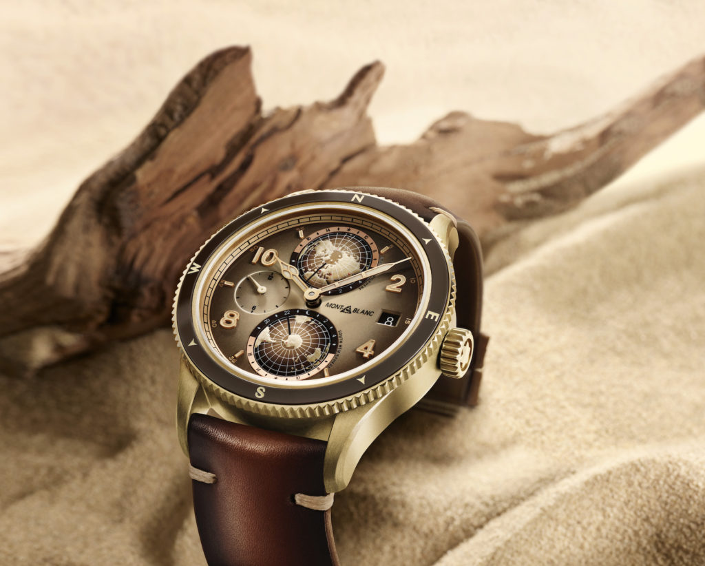 Inspired by a real-life adventurer, Montblanc delves into the desert with its new Montblanc 1858 Geosphere Limited Edition timepiece.