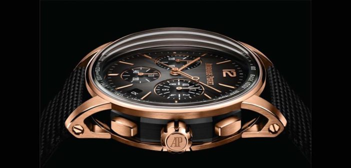 Taping timeless metals and minerals, Audemars Piguet re-envisions its Code 11.59 self-winding chronograph in white and pink gold and black ceramic.