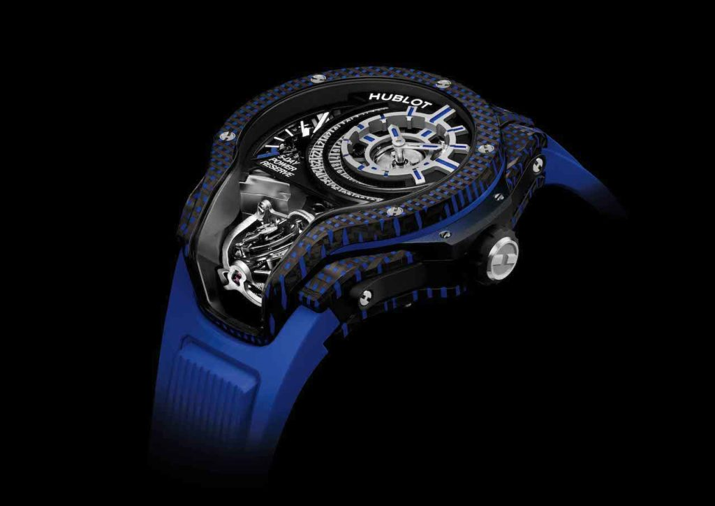 """Hublot has added four striking new timepieces to its MP-09 """"Manufacture Piece"""" collection."""