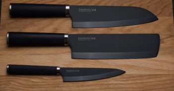 If you're brushing up on your kitchen prep skills, the Kuro Series blades from Kamikoto are for you.