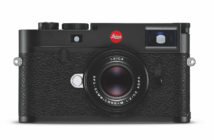 Leica Camera AG has created a new design variant of the brand's iconic M10-R digital camera in high-gloss black.