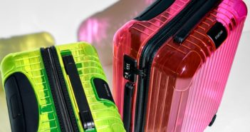 Rimowa has added to its cabin luggage lineup with the addition of the Essential Neon Collection.