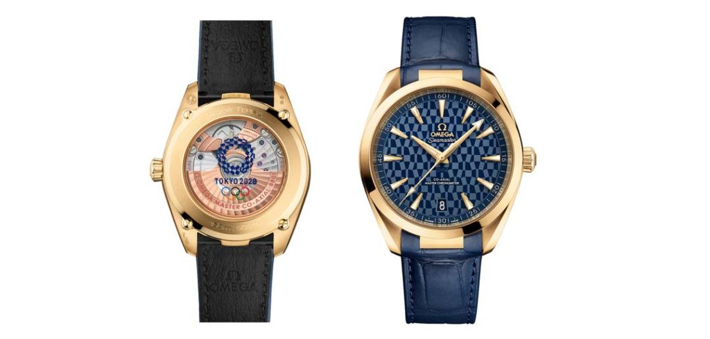 Celebrating the ultimate award for sports perfection, Omega presents two new Seamaster Aqua Terra timepieces in time for this month's Olympics.