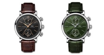 IWC Schaffhausen adds new 39mm chronographs to its elegant Portofino collection.