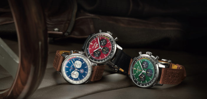 A distinctive celebration of design and freedom, Breitling's new Top Time Classic Cars Capsule Collection pays homage to classic sports cars from the 1960s.