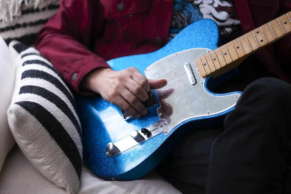 Guitar gurus Fender continues its Fender Artist Signature series with the new J Mascis Telecaster.