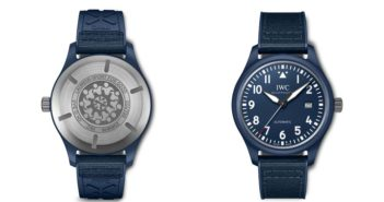 """IWC Schaffhausen releases the Pilot's Watch Automatic Edition """"Laureus Sport for Good"""", a new special edition timepiece the Swiss watchmaker has created to support the work of Laureus Sport for Good."""