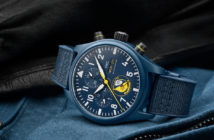 IWC continues its partnership with the U.S. Navy and Marine Corps, for which it develops mil-spec timepieces, with three new additions to its Pilot's Watches collection.