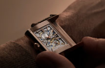 Ninety years after the birth of the Reverso, and 150 years after creating its first minute repeater, Jaeger-LeCoultre presents the limited-release Reverso Tribute Minute Repeater.